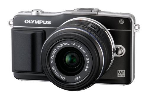 Olympus PEN E-PM2 Kit inkl. 14-42mm Objektiv für 419 € - gute spiegellose Systemkamera