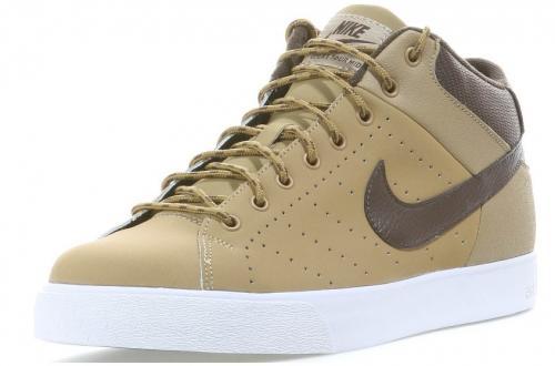 Nike COURT TOUR MID Sneaker Herren filbert-baroque brown-white ODER black-anthracite-white für 29,95€ inkl. Versand + 15% qipu Cashback