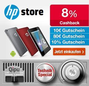 HP Deals mit Qipu: HP Pavilion 15b-153sg für 376,94€ ( idealo: 449€), CQ58 Notebook + Drucker 297,55€ ( idealo: 360€) etc!