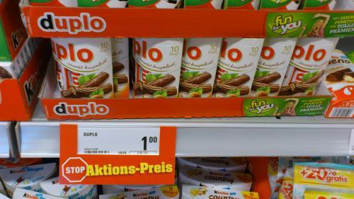 Duplo - 10 Stück für 1,00 Euro statt 1,99€ [Netto mit Hund]