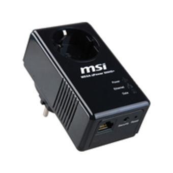 Power LAN MSI ePower 500HD+ Network Single 19,99 € inkl. Versand @ Ebay (Idealo 29,00 €)
