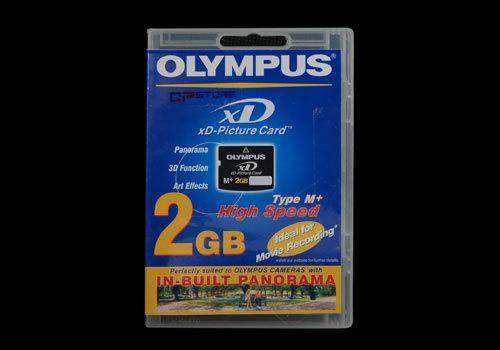 Olympus M-xD 2GB Typ M+ Picture Card für nur 18,99 EUR inkl. Versand