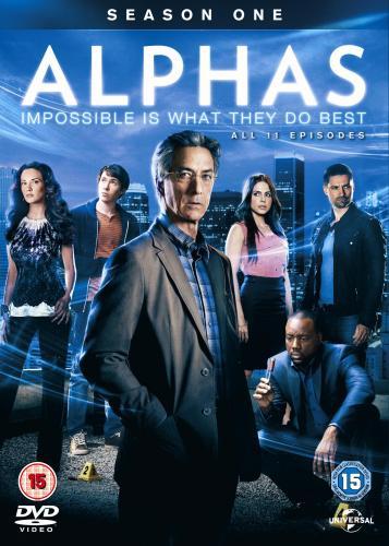 Alphas - Staffel 01 (DVD) für 12,99 Euro + VSK