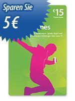 mStore : 15 Euro iTunes Karte für 10 Euro    33% günstiger  (nur in den Filialen)