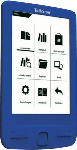 TREKSTOR E-Book Reader Pyrus Mini blau für 33€ @MediaMarkt