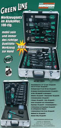 [OFFLINE] Mannesmann Werkzeugkoffer M29075 108-teilig bei Metro für 70€ (nur für Besitzer einer Metro-Card)