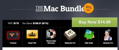 Das Mini Mac Bundle von Paddle mit 6 Apps für 11,27€