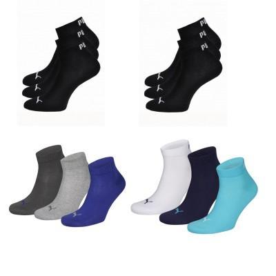 24 x Puma Quarter Socken verschiedene Farben für 35,90€
