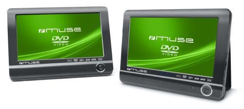 Tragbarer DVD-Player mit 2 Bildschirmen Muse M-960 CVB für nur 139,- EUR inkl. Versand