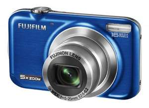 Fujifilm FinePix JX350  Blau (16MP, 5x Optical Zoom) für 57€ @Amazon.co.uk