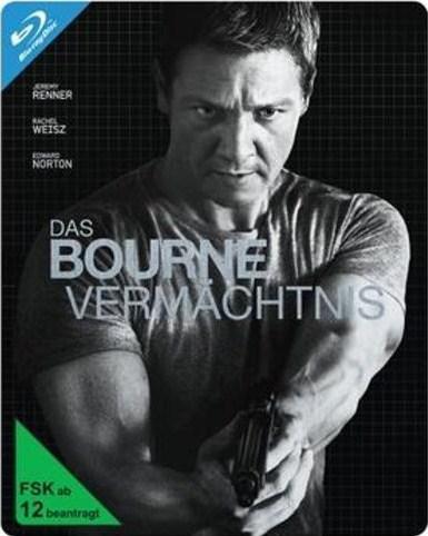 media-dealer.de: Liveshopping Das Bourne Vermächtnis - Steelbook (Blu-ray) 9,99 € + 2,99 € Versand oder ab 18 € VSK Frei