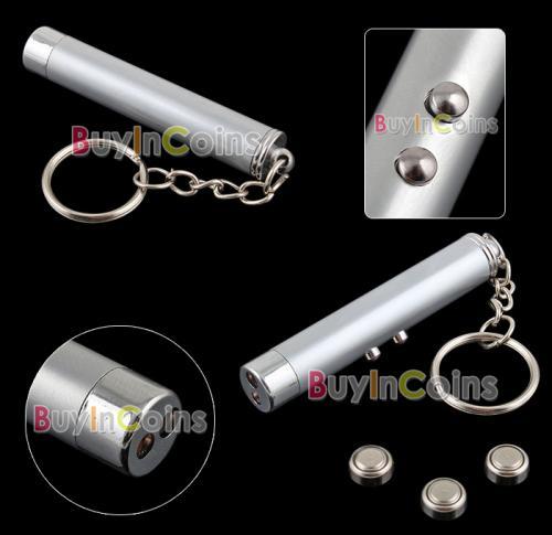 Laserpointer + Taschenlampe für ca. 69 Cent @ BIC