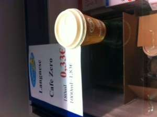 Lokal Steinhagen Westfalen : Lagnese Café Zero 0,33 €