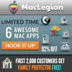 MacLegion Security Bundle mit bis zu 6 Apps für 22,70€