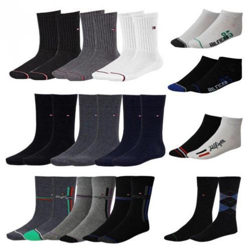 Tommy Hilfiger 4er Pack Business, Sport, Quarter oder Sneakersocken für 19,99€ frei Haus @EBAY