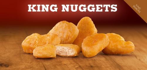 Ab Dienstag: King des Monats ist das 6er King Nuggets Menü