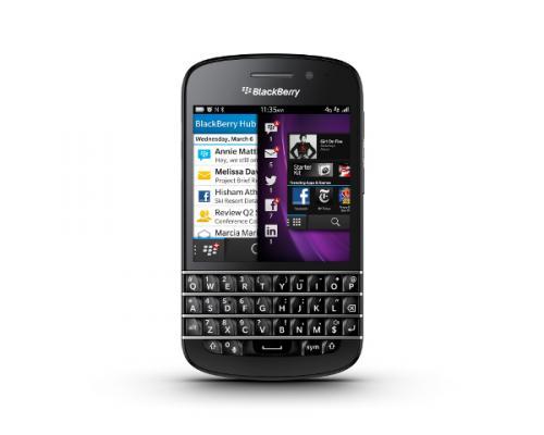 Blackberry Q10 schwarz od. weiß mit Vertrag für die Schublade [Talkine / Handytick]