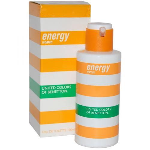 Benetton - Energy For Women 100ml EDT für nur 15,50 EUR inkl. Versand