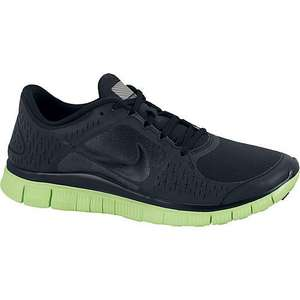 "Nike ""Free Run + 3 Shield"", schwarz/grau (Herren) grau (Damen)"