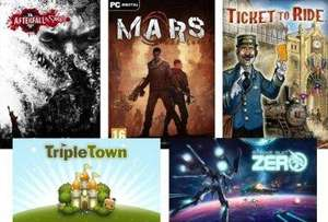 [Steam] CAG Bundle 2 (Mars: War Logs. Strike Suit Zero, Afterfall Insanity, Triple Town, Galaxy on Fire 2 HD) + weitere Bundles