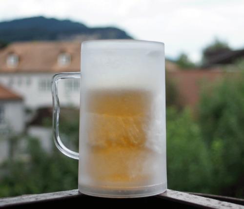 Bierkrug mit Kühlfunktion für 4,95€ inkl. Versand @Gutschein des Tages