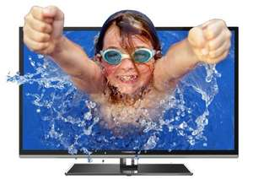 Thomson 50FU6663 50 Zoll 3D-LED Backlight TV incl .2x Aktiv-Shutterbrillen, WiFi-Stick & Samsung BD-F5500/EN
