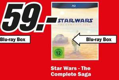 [Lokal Duisburg] Star Wars The Complete Saga bei Media Markt