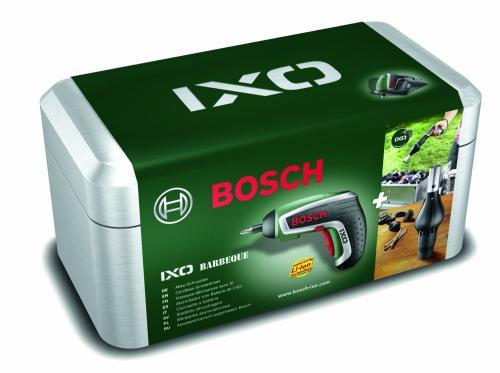 "Bosch™ - Akku Schrauber IXO IV Upgrade (3,6V/4,5Nm/1,5Ah) + Gebläseaufsatz ""Barbecue"" ab €41,86 [@Voelkner.de]"