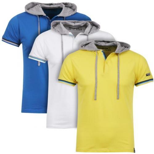 Men's Gorgan 3 Pack Hooded T-Shirts