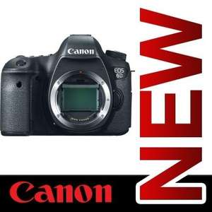 Canon 6D Body NEU aus UK