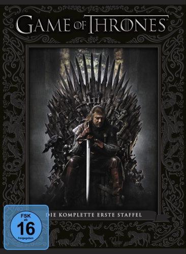 Game of Thrones Staffel 1 DVD für 14,99 € amazon + 3 Euro VSK für Nicht-Prime Kunden