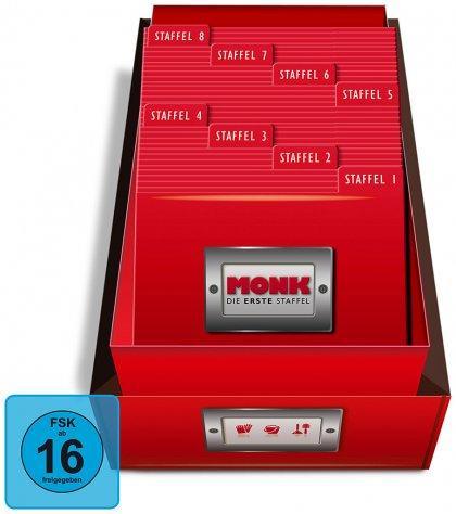 Media-Dealer.de: Monk - Die komplette Serie (DVD)  für 77,77 Euro im Liveshopping