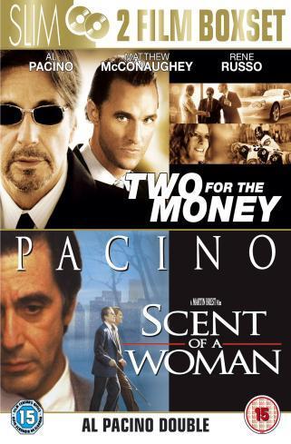 Das schnelle Geld und Der Duft der Frauen (DVD) zusammen für 3,15€ inkl. Versand bei play.com