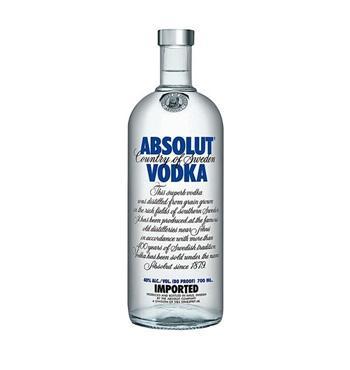3x Absolut Vodka Blue/ Rasperry etc. 0,7l Flaschen für 29.97€