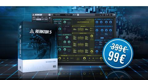 Native Instrument Reaktor für 99 €