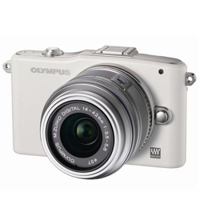 EDIT: Systemkamera Olympus Pen E-PM1 Kit 14-42 mm  für nur 216,99 €