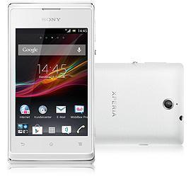Sony Xperia E weiß Telekom Prepaid - 76,44eur