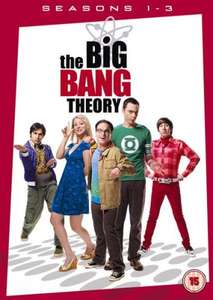 EXPIRED - The Big Bang Theory: Seasons 1 - 3 Box Set @thehut