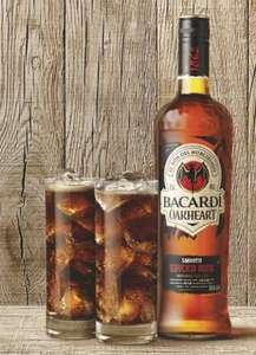 3 Flaschen Bacardi Superior oder Oakheart für 25€ = ca. 8,33€ pro 0,7l Flasche @ Rewe bundesweit NUR Samstag,22.06. mit Coupon!
