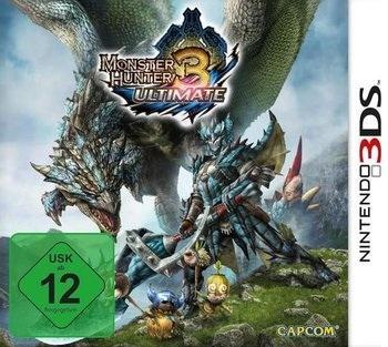 Monster Hunter 3 Ultimate 3DS für 29€ @MediaMarkt online