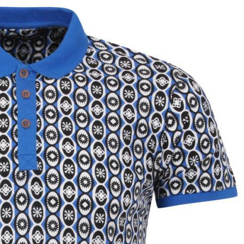 [thehut.com] Brave Soul Men's Axis Polo Shirt - Blau Größe M