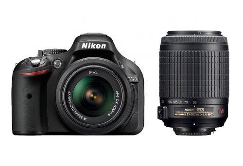 Nikon D5200 + AF-S DX 18 - 55 mm VR
