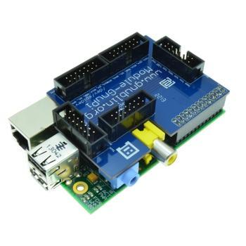RaspberryPI Erweiterungsplatine für Home-Automatisierung & Co.