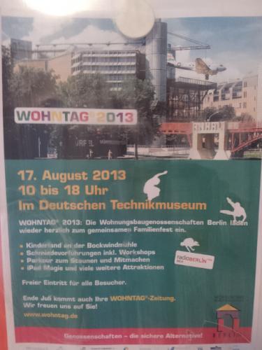 Berlin, freier Eintritt ins Detusche Technikmuseum 17.08.2013 (Familientag)