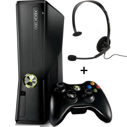 Microsoft Xbox 360 Slim 250GB + Wireless Controller und Headset für 129€ inkl. Versand @MediMarkt