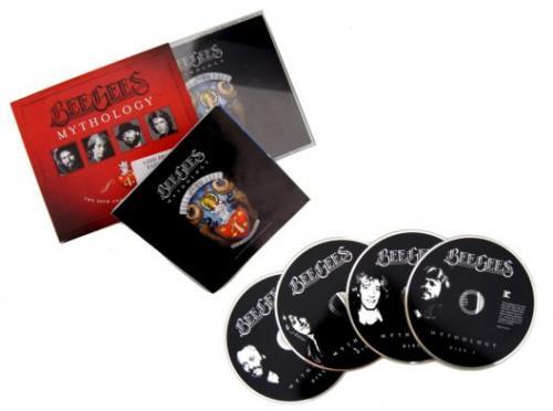 Bee Gees MYTHOLOGY (50 JAHRE BEE GEES) 4CD Box - 12 Euro (ggf. 1,99 Euro Versand @Saturn.de / vsk-frei mit Amazon Prime)