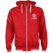 Manchester United Men's Hooded Shower Jacket bei TheHut für 16,98€ !! Versand kostenlos !! @Manchester führt den FC Schalke vor! ;-)