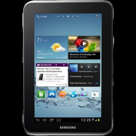 "Samsung Tablet WiFi 16GB ""Galaxy Tab 2 7.0"" (silber)  für 165,85 bei ZackZack"