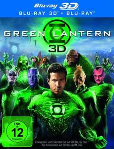 Green Lantern (Extended Cut) (+ Blu-ray) [Blu-ray 3D] für 14,97 € @ Amazon