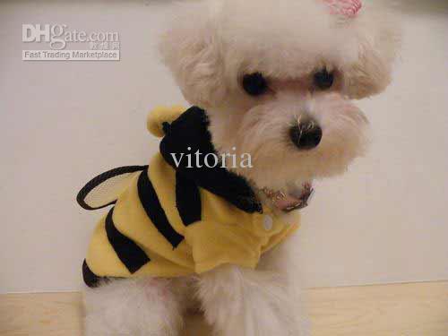 "(CN) Hundekostüm ""Hummel"" für 1,56€ @ EBay"